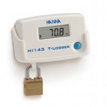 [:lt]Temperatūros T-Logger su fiksuojamu sieniniu laikikliu - HI143[:en]Temperature T-Logger with Locking Wall Cradle - HI143[:]