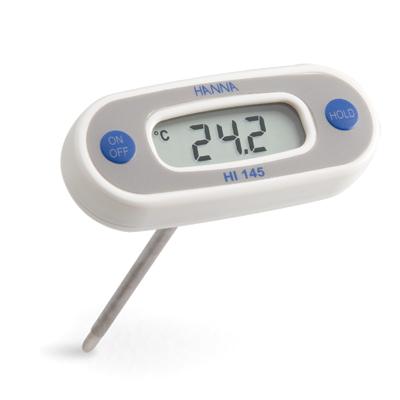 [:lt]HI145 - HACCP kišeninis termometras °C, su 300 mm zondu [:en]HACCP pocket thermometer °C, with 300 mm probe Range: -50.0 to 220°C[:]