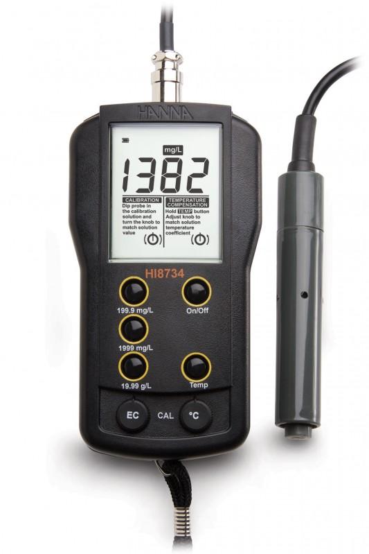 Three Range Portable TDS Meter - HI8734