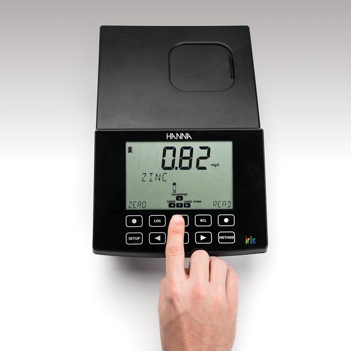 [:lt]iris Spektrofotometras - HI801[:en]iris Visible Spectrophotometer - HI801[:]