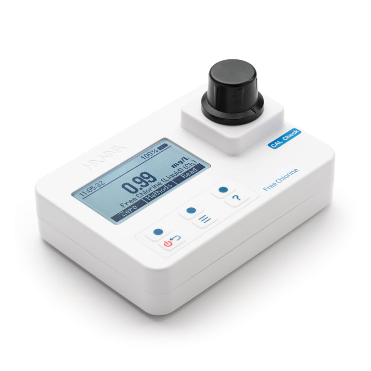 HI97701 Free Chlorine Portable Photometer with CAL Check