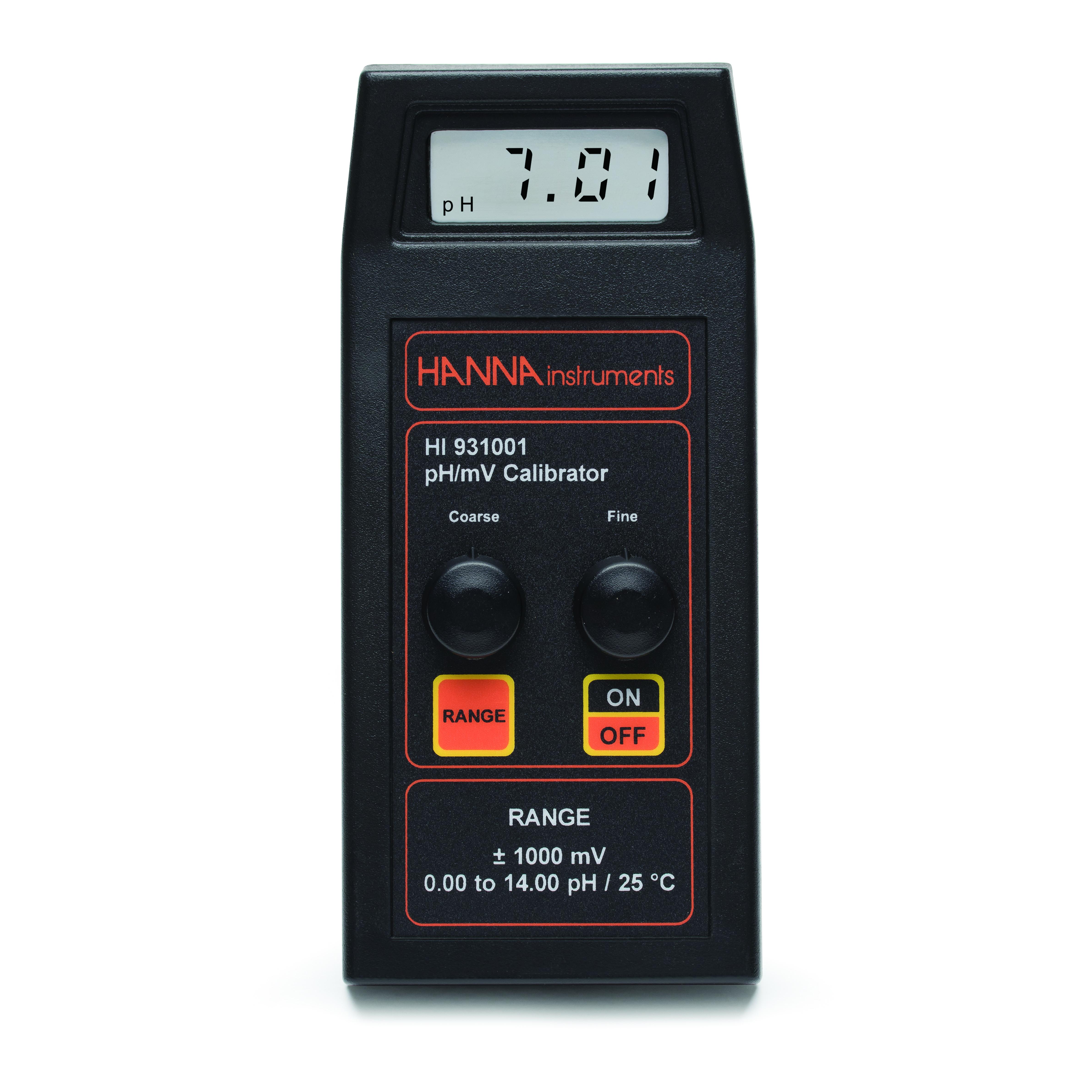 [:lt]HI931001 pH/mV simuliatorius su LCD[:en]HI931001 pH/mV Simulator with LCD[:]